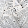 Stock Photo: Background of old vintage newspapers