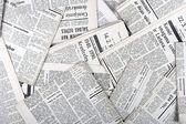 Achtergrond van oude vintage kranten — Stockfoto