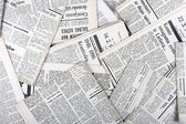 Background of old vintage newspapers — Stock Photo