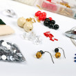Foto de Stock  : Beading workshop