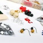 Beading workshop — Stock Photo