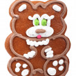 Gingerbread bear — Stock Photo