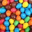 Colorful background of chocolate candies — Foto de Stock
