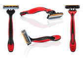Shaving razor isolated on white background — Stock Photo