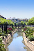 City canal of Palma de Mallorca, Spain — Stock Photo