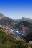 美丽山景在马洛卡巴利阿里群岛 — 图库照片