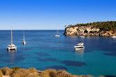 Beautiful turquoise bays in stunning Mallorca — Stock Photo