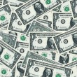 Money background - american dollars — Foto de Stock