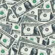 Money background - american dollars — Stock Photo