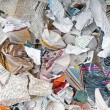 Background with variety of different torn newspapers and magazines — Stock Photo #30246905