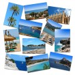 Stock Photo: Photo collage from mallorcvacations