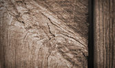 Wood plank texture closeup — Stockfoto
