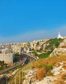 Hlavní město Libanonu - Bejrútu z výšky — Stock fotografie