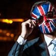 Stylish young man with emblem of Great Britain. — Stock Photo #13268530
