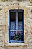 красиво оформлена древние окна — Стоковое фото