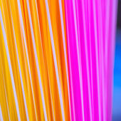 Many multi-color tubules — Stock Photo