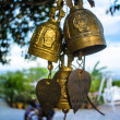 Buddhist bells — Foto Stock
