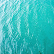 Blue beach water - Stock Photo