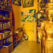 Stock Photo: Room with statue of Buddha