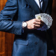 Man in a suit . Player — Stock Photo #30804843