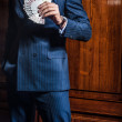 Man in a suit . Player — Stock Photo #30805339
