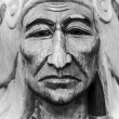 Chief, vintage style — Stock Photo #30830655