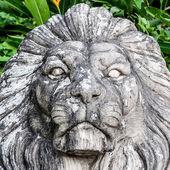 Ancient sculpture lion — Stock Photo