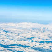 Snowy mountains — Foto Stock