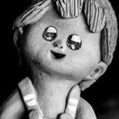Ceramic toy — Stockfoto