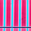 Multicolored wooden repeated line art — Stock Photo