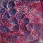 Arte pedra floral — Fotografia Stock