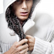 Fashion man freeze — Stockfoto
