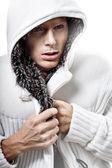 Moda mężczyzna zamrażać — Zdjęcie stockowe