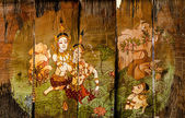 Traditional Thai style art stories — Foto Stock