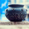 Ancient bowl isolated — Stock Photo