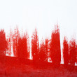 Red abstract paint background — Stock Photo