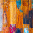Colorful stylish old wooden parquet staves texture background. — Stock Photo
