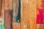 Colorful stylish old wooden parquet staves texture background. — ストック写真