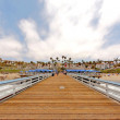 Wide Angle SClemente Pier — Stock Photo #14498381