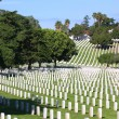 Rosecrans National Cemetery Vertical - Stock Photo