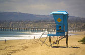 Lifeguard Tower in San Clemente — Stock Photo