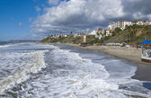 San Clemente looking North from the Pier after a storm — Stock Photo