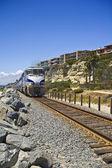 火车穿越圣克莱门特 — 图库照片