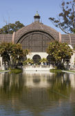 Arboretum in Balboa Park with Reflecting Pool — Stock Photo