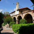 Artsy shot of Mission San Juan Capistrano - Stock Photo