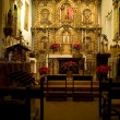 Mission San Juan Capistrano Church Alter — Stock Photo