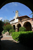 Artsy shot of Mission San Juan Capistrano — Stock Photo