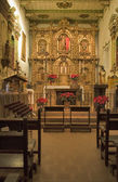 MISSION SAN JUAN CAPISTRANO CHAPEL ALTER — Stock Photo