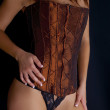 Corset Model — Stock Photo
