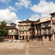 Square of Oliveira in the center of Guimaraes city, European Cap — Stok fotoğraf
